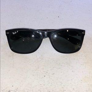 Ray Ban polarized black sunglasses